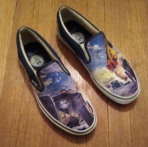 Robert Williams Vans Slip-ons